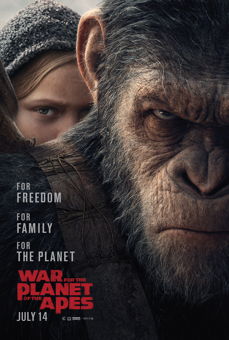 'War for the Planet of the Apes' tops 'Spider-Man' . See Stockwinners.com Market Radar every Friday and Sunday for the Box Office Report