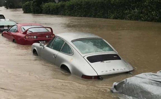 Hurricane Harvey Should benefit used car dealers. See Stockwinners.com